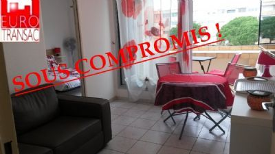 COMPROMISE SUB - BALARUC LES Bains-Apartment F2 with terrace of 4.25 m²