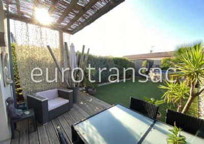 FABREGUES - HOUSE OF 85M ² ON A PLOT OF 188M ² - BEAUTIFUL BENEFITS