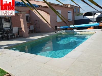 GIGEAN-VILLA F4 on a PLAIN foot located in a quiet area near amenities